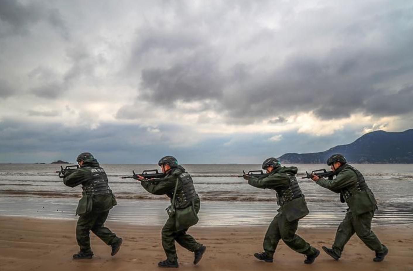 开年 开训 开战!浙江武警打响新年军事训练第一枪